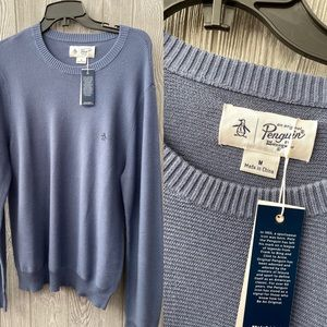 New men's Original penguin sweater